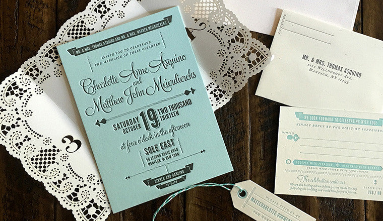 Featured Wedding Invitation
