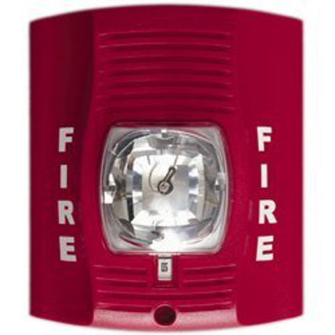 fire alarm battery powered security camera