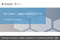 Use Cases – Agility Included Course, Driebergen-Rijsenburg, Nov 7, 2019