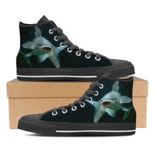 Women's Premium Catfish High-Tops (Black) - FREE SHIPPING