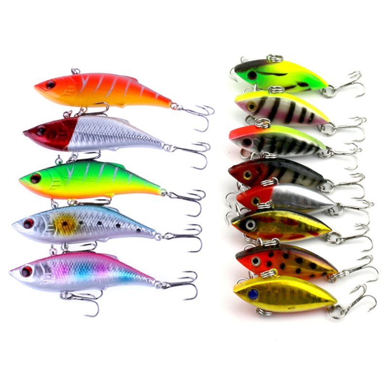 Lipless Crankbaits - Set Of THIRTEEEN in Different Patterns