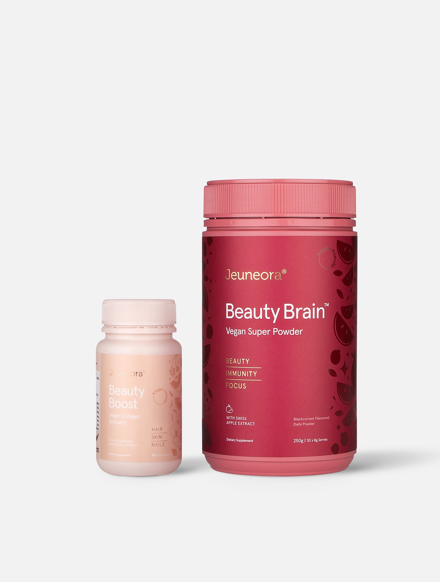 Jeuneora Beauty Brain™ and Beauty Boost Capsules