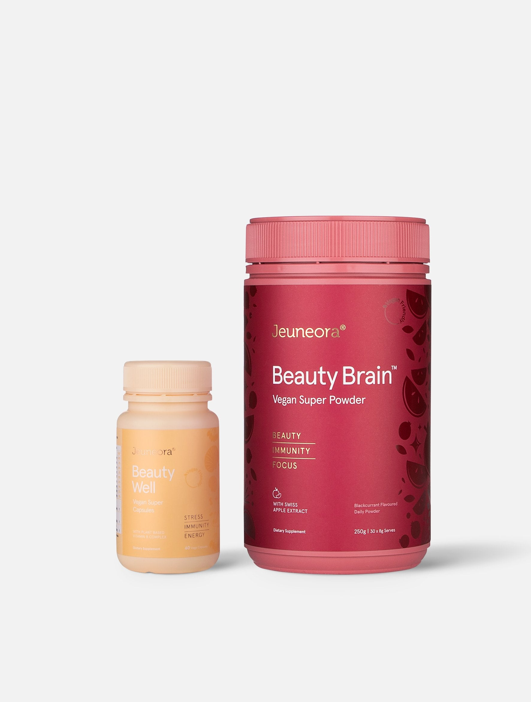 Jeuneora Beauty Brain™ and Beauty Well Capsules