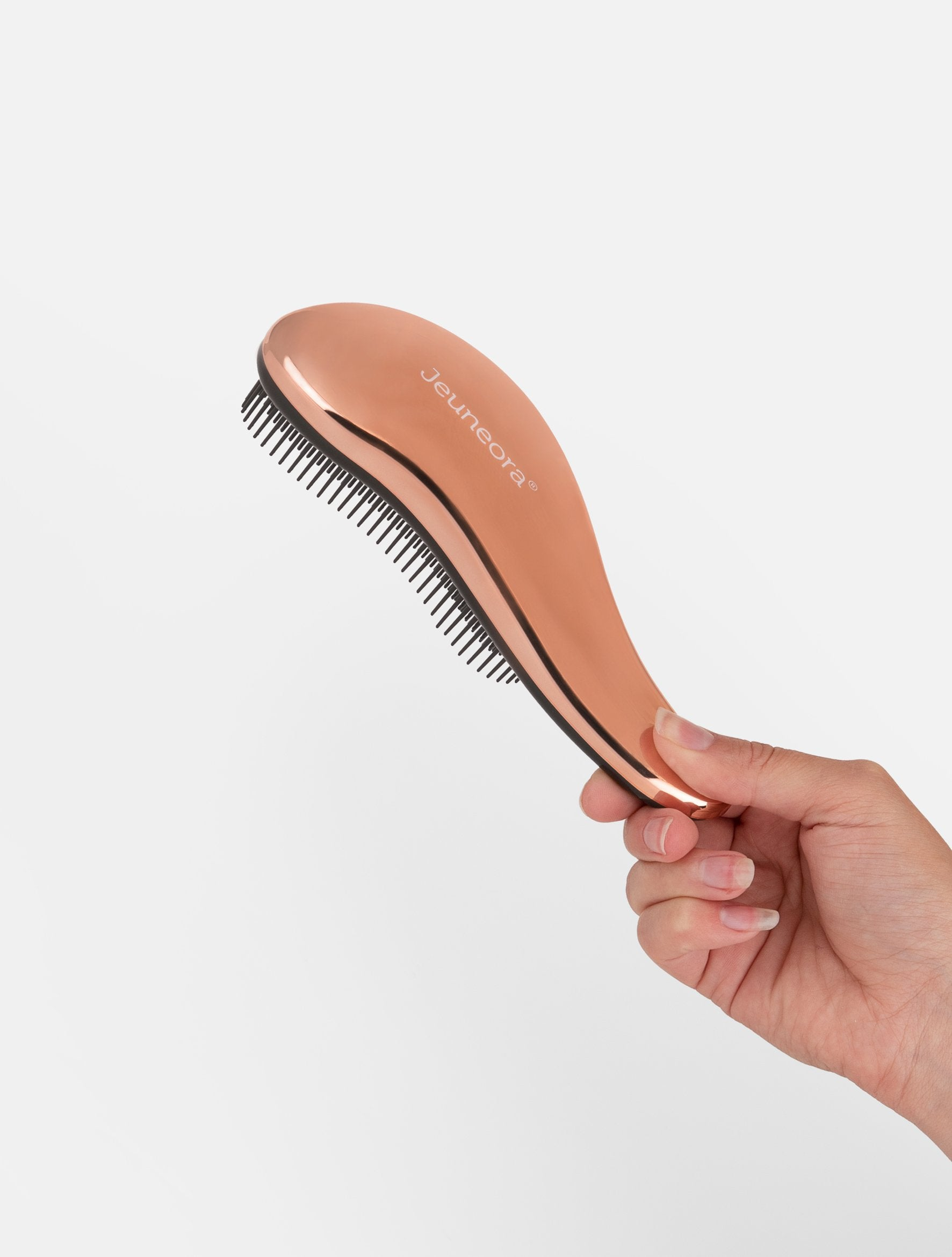 Jeuneora® Rose Gold Detangling Brush