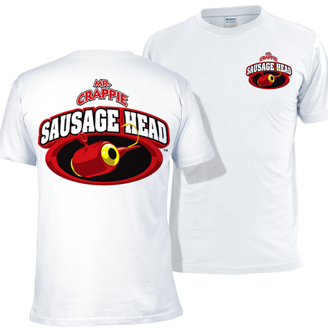 Mr. Crappie Sausage Head T-shirt