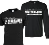 Wally Marshall Tuxedo Black Shirt