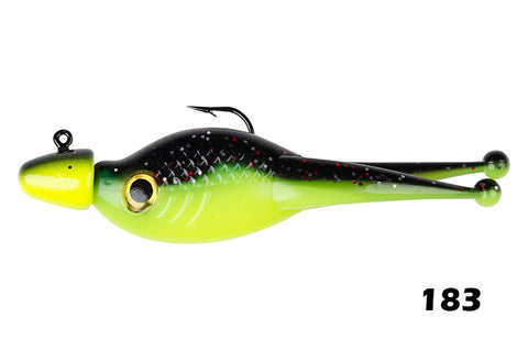 Mr. Crappie Sizzor Shad with Jig Head