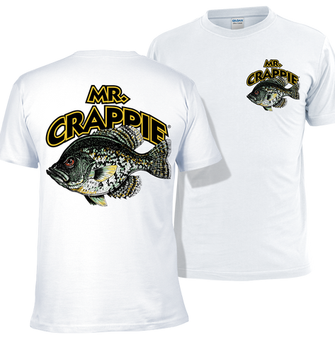 New Mr. Crappie Throw Back T-Shirt
