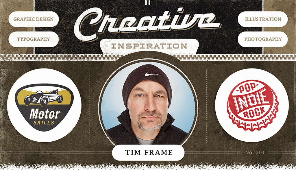 Tim Frame Delivers Maximum Impact With A Brave & Bold Logo Design Swagger