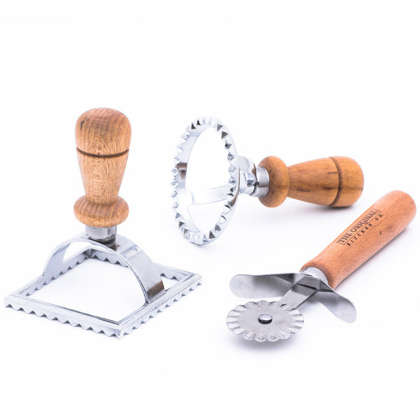 The Original Ravioli Stamp and Cutter Set