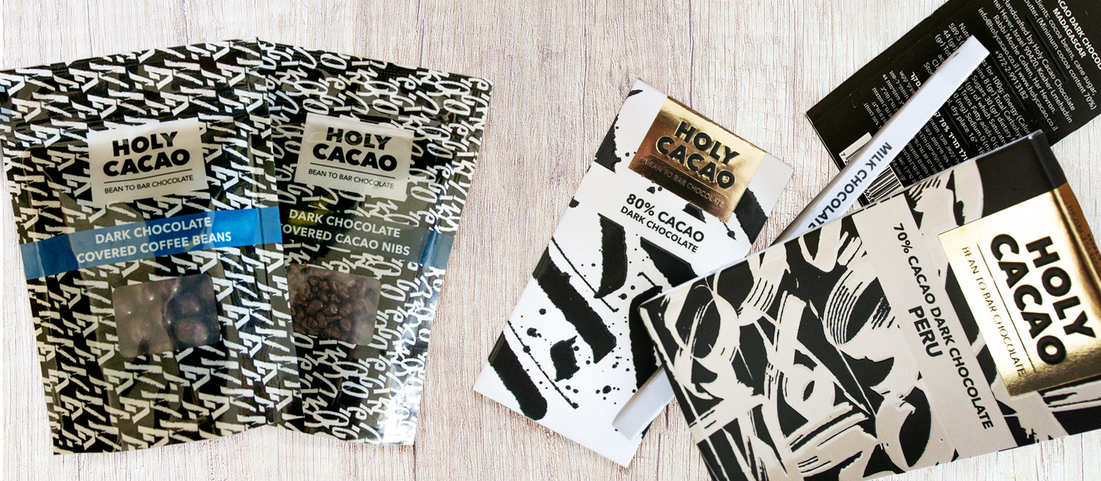 We just added Holy Cacao chocolate to the store again!