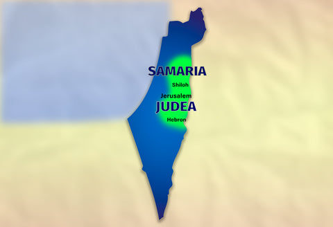 Judea and Samaria Map