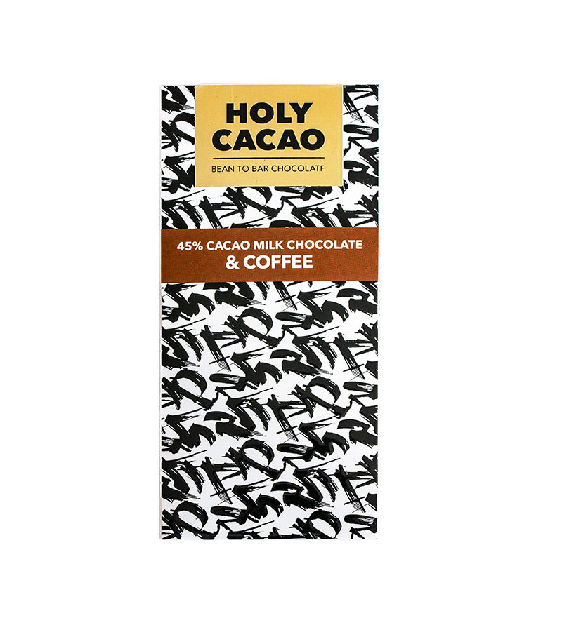 45% Cacao Coffee Milk Chocolate