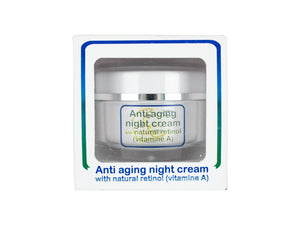Anti-Aging Night Cream - with natural Retinol (vitamin A)