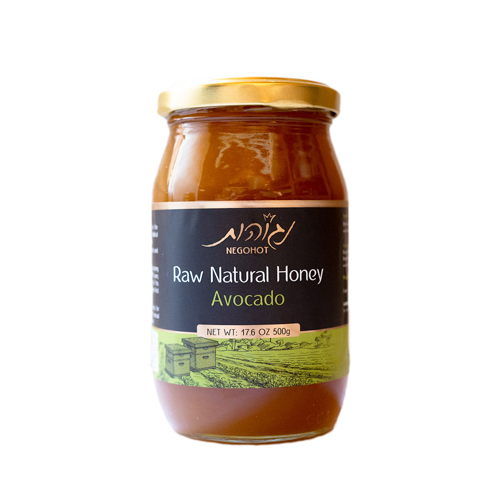 All Natural, Unfiltered Avocado Honey