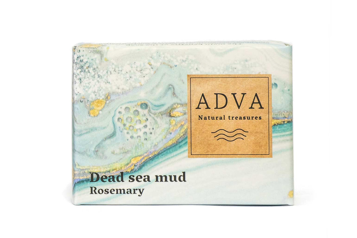 Dead Sea Mud Soap - Rosemary