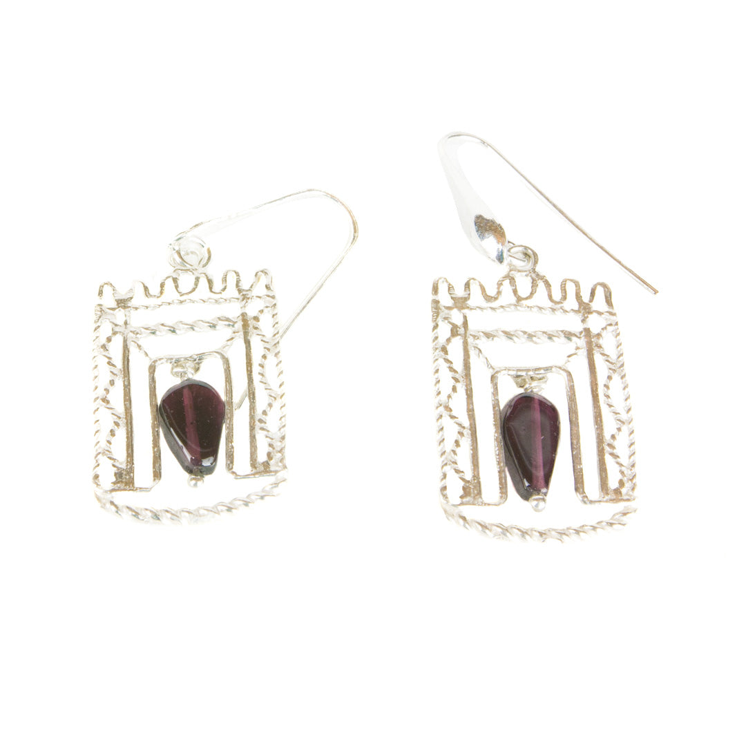 Mikdash Earrings - Blessed Buy Israel