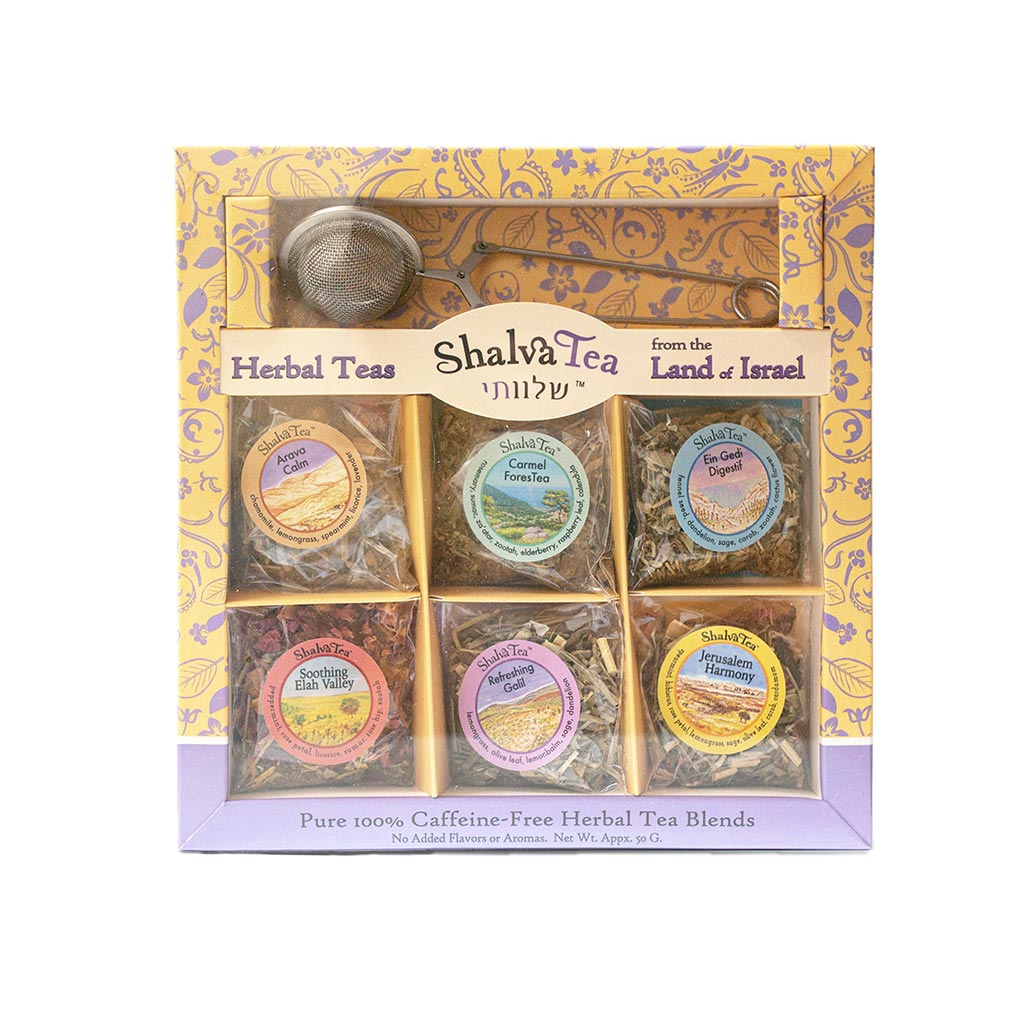 Shalva Herbal Tea Gift Pack