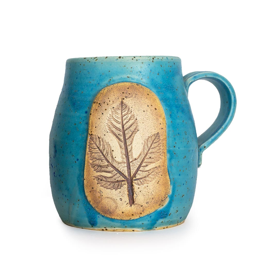 Turquoise, Leaf Cups