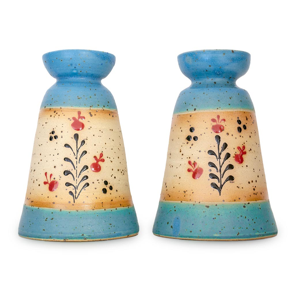 Pomegranate candlesticks handcrafted from Israel