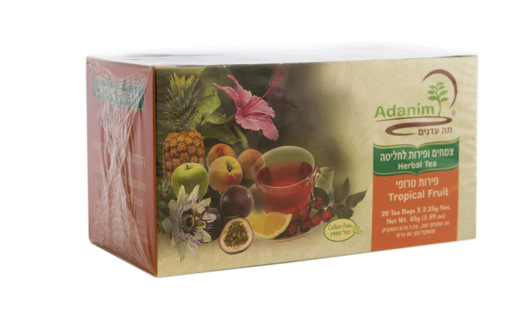 Organic Fruit Tea - Apple, Hibiscus and Rose Hip - Blessed Buy Israel