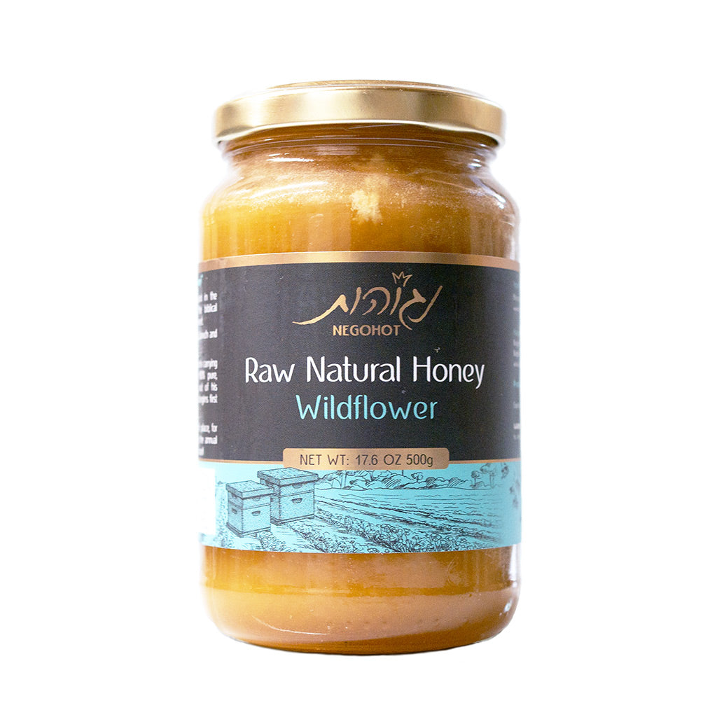 All Natural, Unfiltered Wildflower Honey