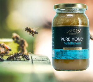 100% Pure, Raw, Unfiltered Honey from Wildflowers