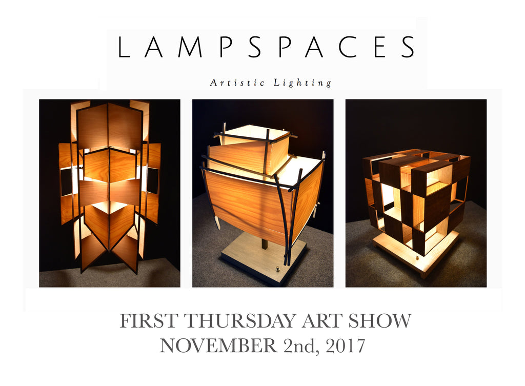 L A M P S P A C E S:  Art Opening, this First Thursday!