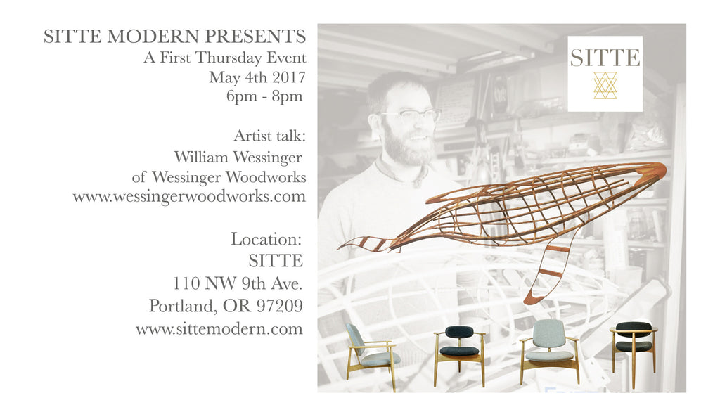 First Thursday Event -  Wessinger Woodworks speaks about his work!