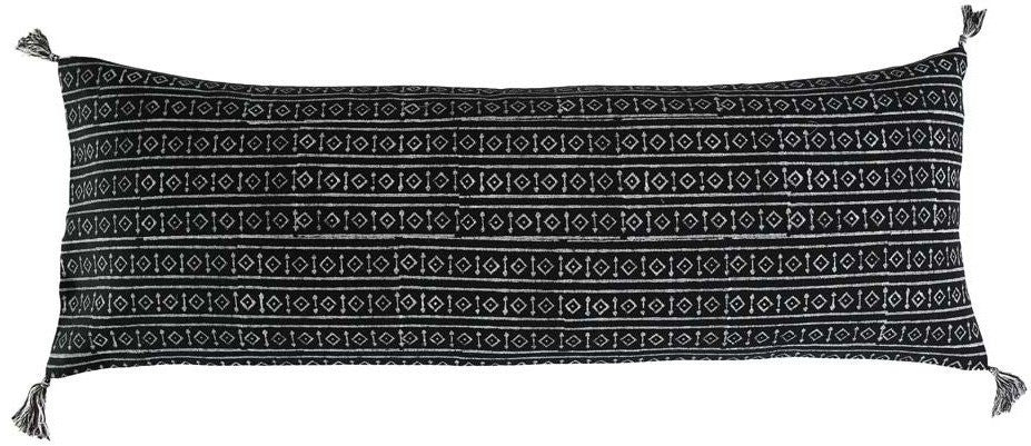 raga pillow - black
