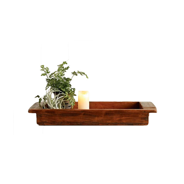 antique mango wood tray