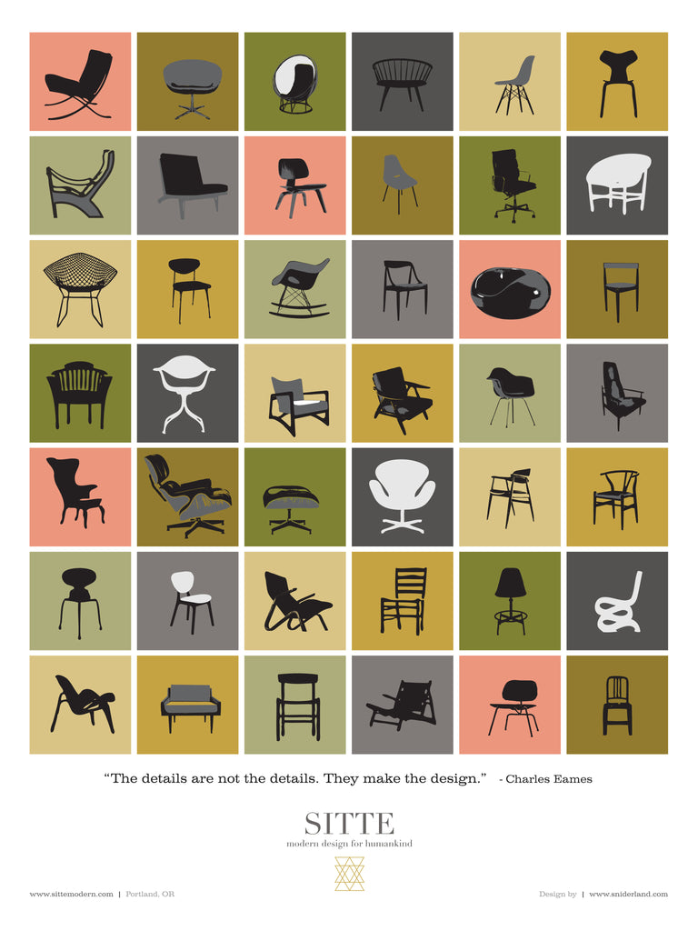 celebration of chairs poster