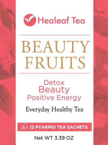 Healeaf Tea - Beauty Fruits - Beauty tea - Detox. Beauty. Positive Energy.