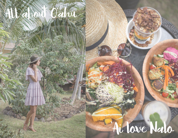 All about O'ahu with Muse by Rimo @ 'Ai love Nalo