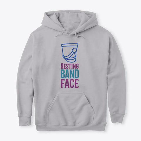 [Marching Band] Resting Band Face - Hoodie