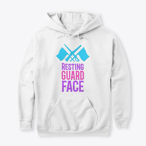 [Color Guard] Resting Guard Face - Hoodie