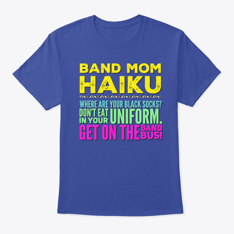 [Band Mom] Haiku
