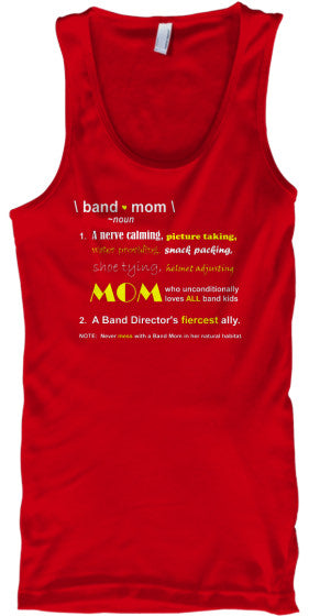 \ band mom \  Definition - Tank Top