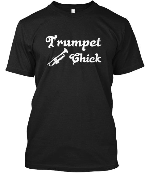 Trumpet Chick - Limited Edition T-Shirt!