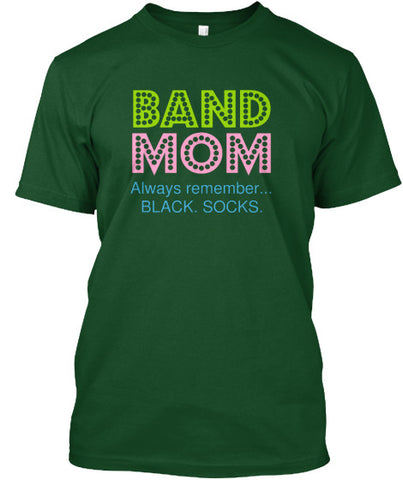 Band Mom - Black Socks