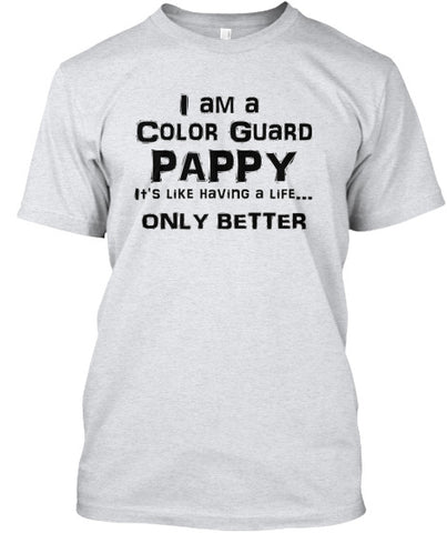 Color Guard Pappy - Black Letters