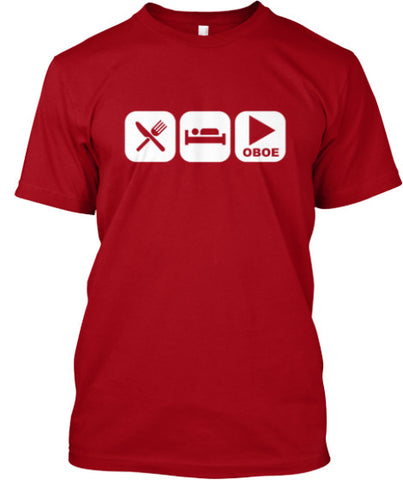 Eat, Sleep and Play Oboe Tee!