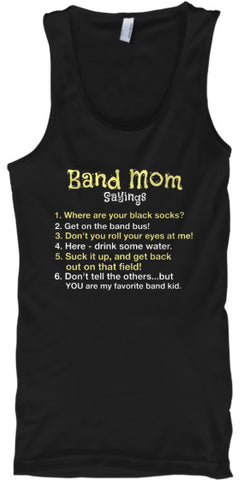 Band Mom Sayings - Tank Top