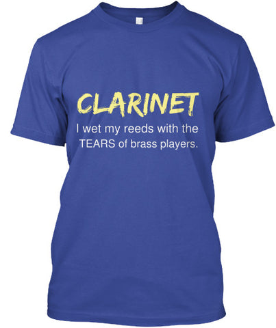 Clarinet - I wet my reeds with the tears of brass players