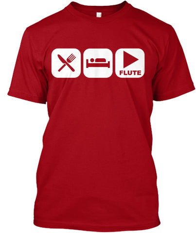 Eat, Sleep, and Play Flute Tee!