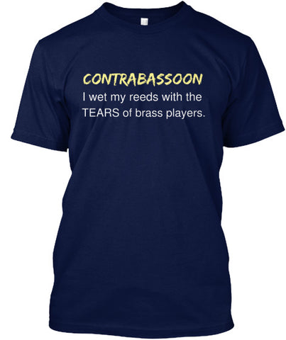 Contrabassoon - I wet my reeds with the tears of brass players