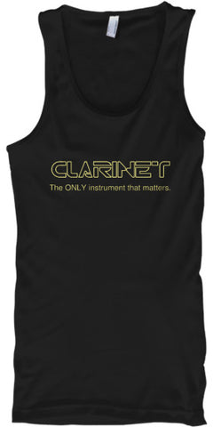 Clarinet - The ONLY instrument - Tank Top