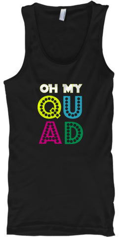 Color Guard - Oh My QUAD! Tank Top