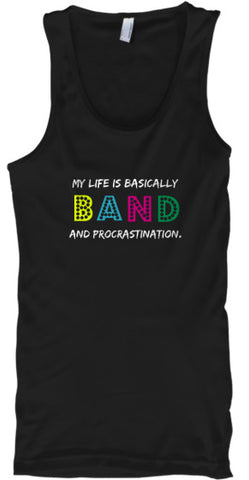 BAND and Procrastination - Tank Top