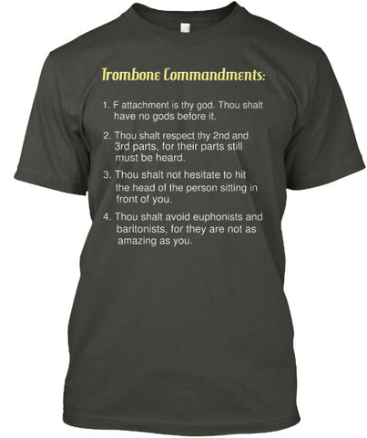 Trombone Commandments